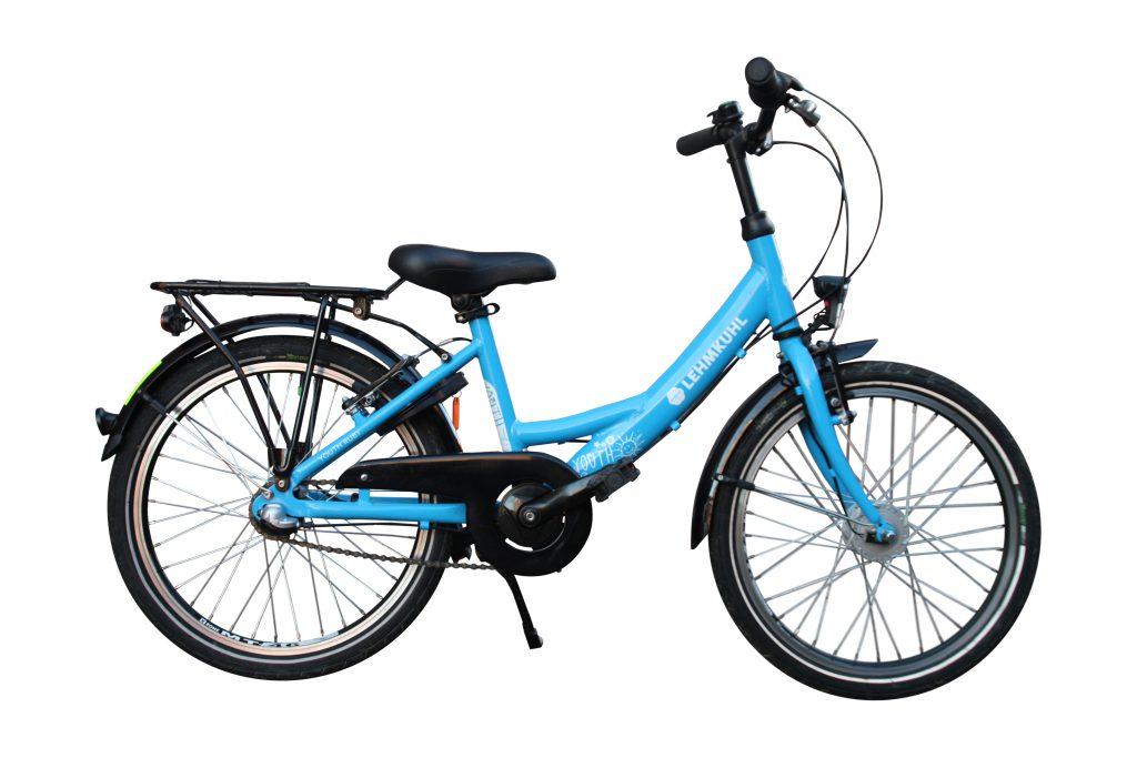 """Lehmkuhl Kinderrad 20"""", 3-Gang, blau"""
