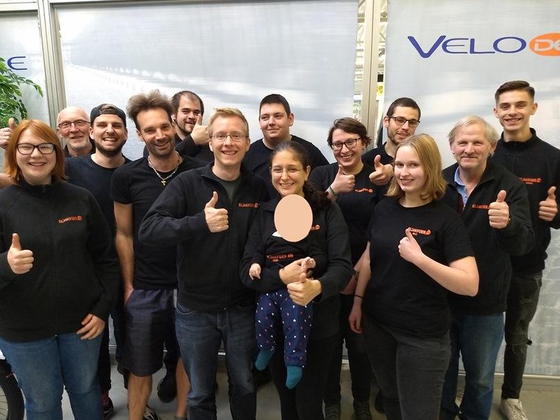 Betriebsbesichtigung und Schulung bei Velo de Ville in Altenberge